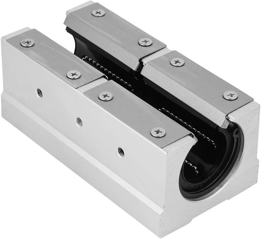 35mm Bearing Slide SBR35LUU Aluminum Alloy Open Linear Motion Bearing Slide Block for Linear Guide Rail