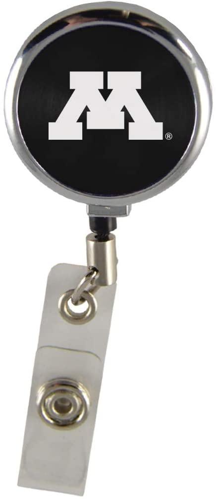 University of Minnesota-Retractable Badge Reel-Black