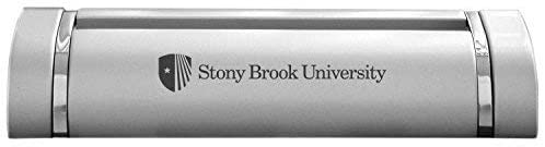 LXG, Inc. Stony Brook University-Desk Business Card Holder -Silver