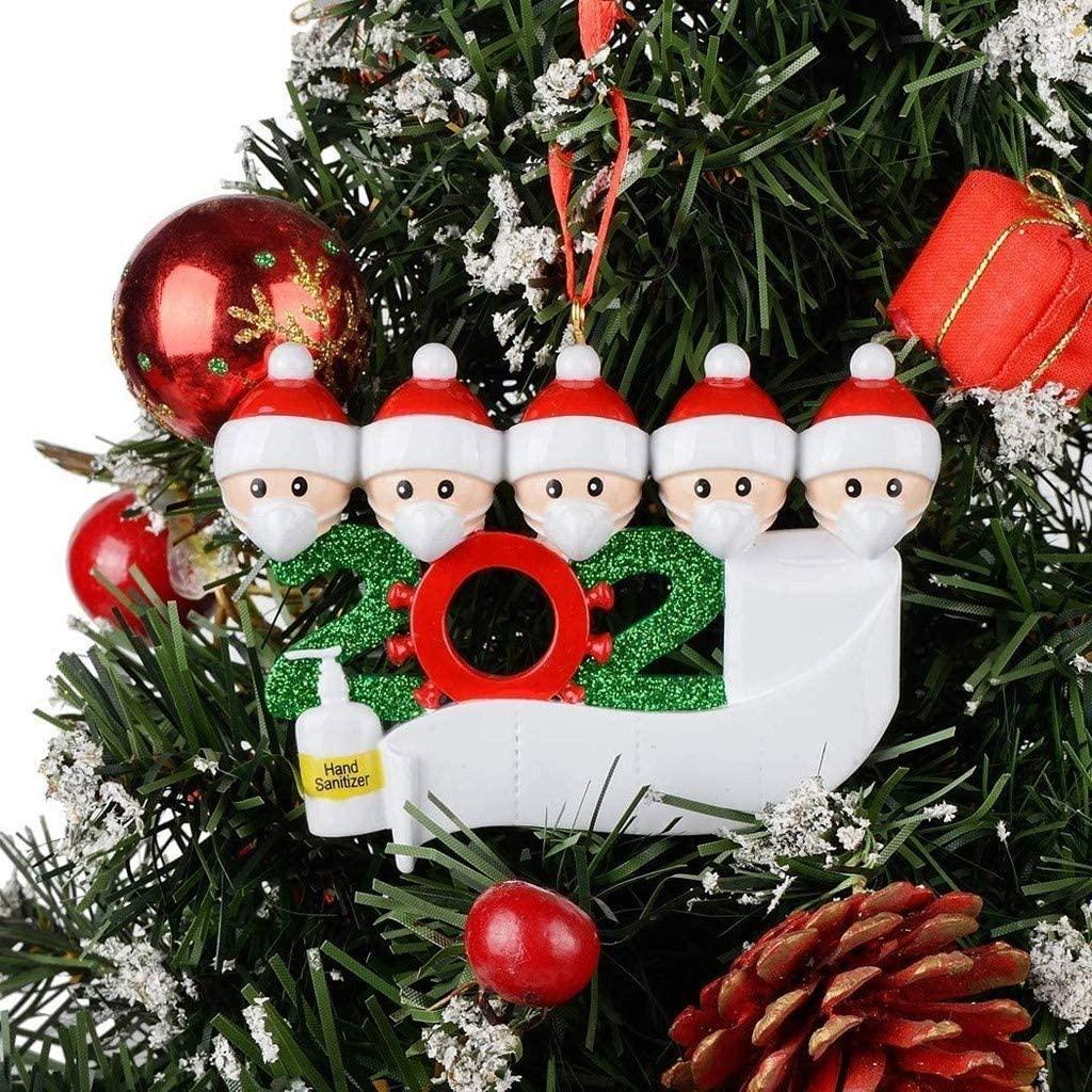 Callm 2020 Christmas Holiday Decorations Snowman Christmas Tree Hanging Pendant