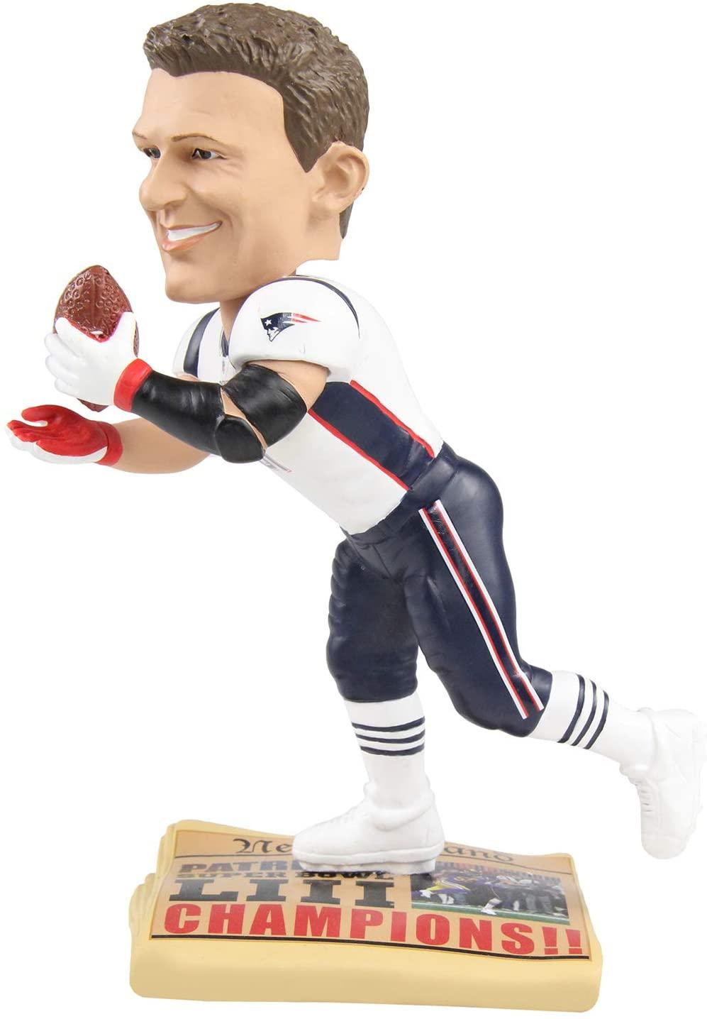Rob Gronkowski (New England Patriots) Iconic Super Bowl LIII Moment Bobblehead by Foco