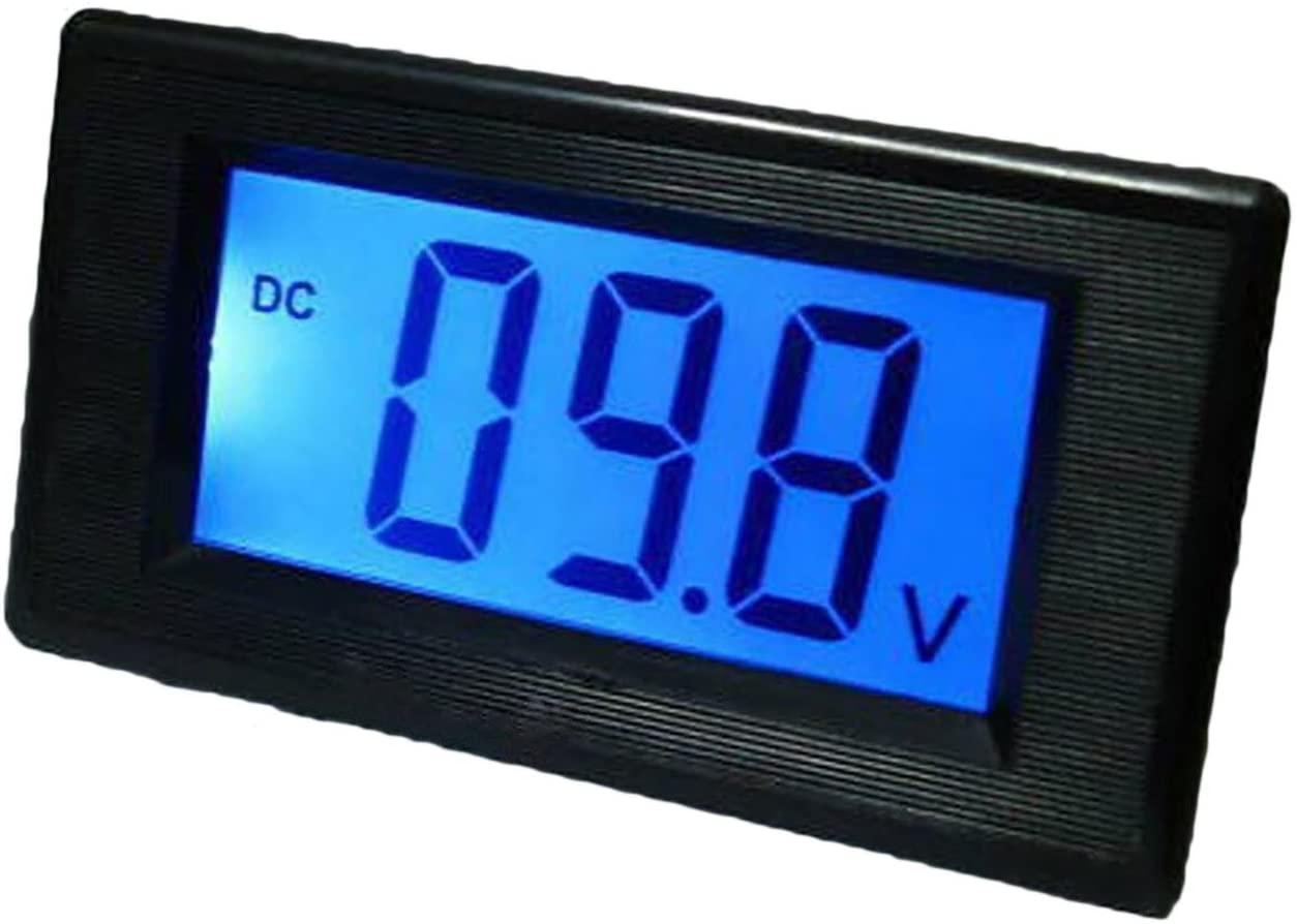 DC 0-199.9V 200V Blue LCD Digital Volt Panel Meter Voltmeter