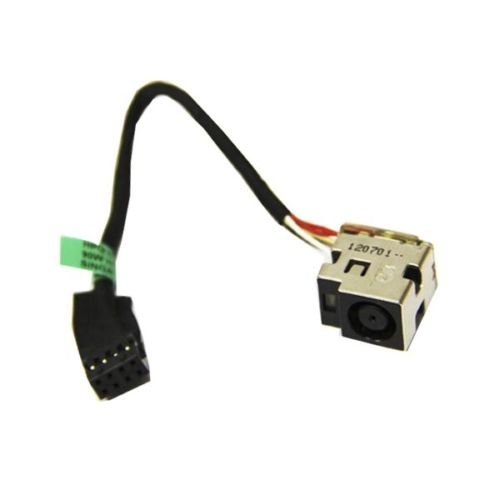 DBParts AC DC Power Jack Harness Cable For HP Pavilion G7-2000 G7-2069WM G7-2269WM G7-2279WM G7-2289WM G7-2022US G7-2240US G7-2247US G7-2270US G7-2010NR, 661680-302 661680-TD1 661680-YD1 682744-001