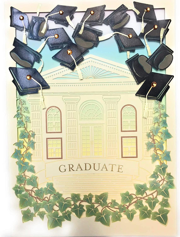 PAPYRUS Graduate Laser Cut Graduation Card