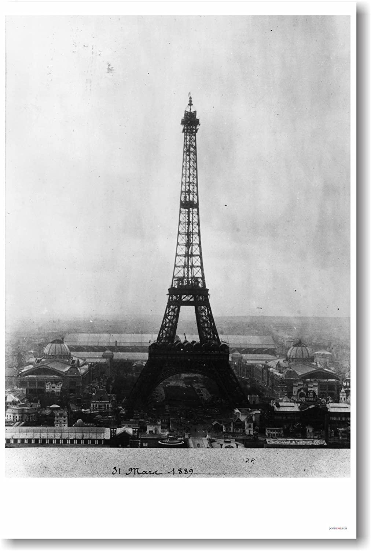 Eiffel Tower Paris France - NEW World Travel Poster