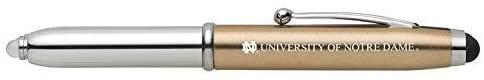 LXG, Inc. University of Notre Dame-Triple Function Stylus Pen-Gold