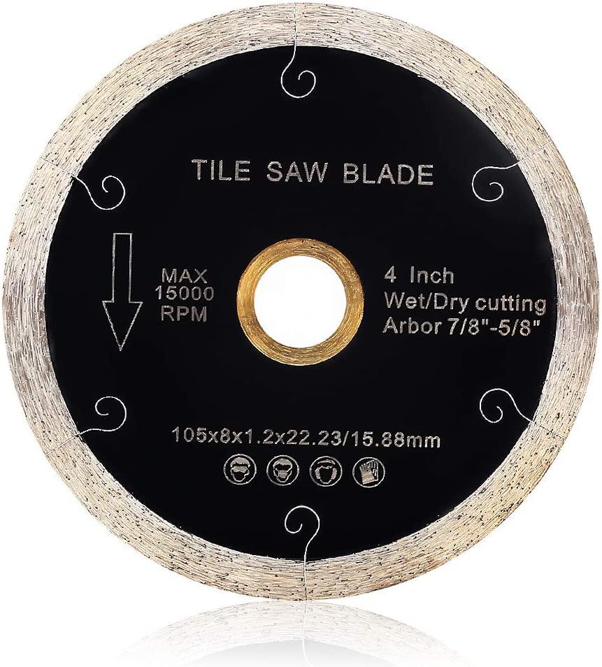 Super Thin J Slot Diamond Continuous Rim Porcelain balde Tile balde for Cutting Ceramic Porcelain Tile Granite (4