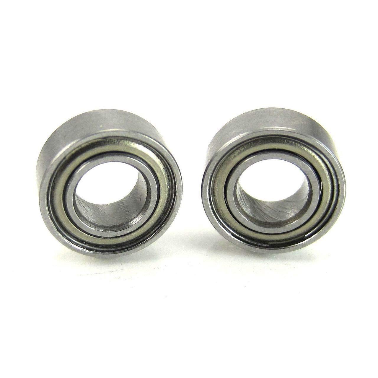 5x10x4mm Hybrid Ceramic Clutch Ball Bearings Metal Shields (2)