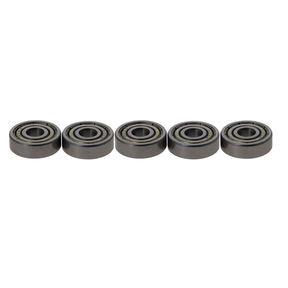 Othmro Deep Groove Ball Bearing Double Sealed 5mm x 16mm x 5mm High Carbon Chrome Bearing Steel(Pack of 5)