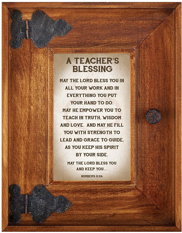 LoveLea Down Home Collection Tabletop Frame, Teacher