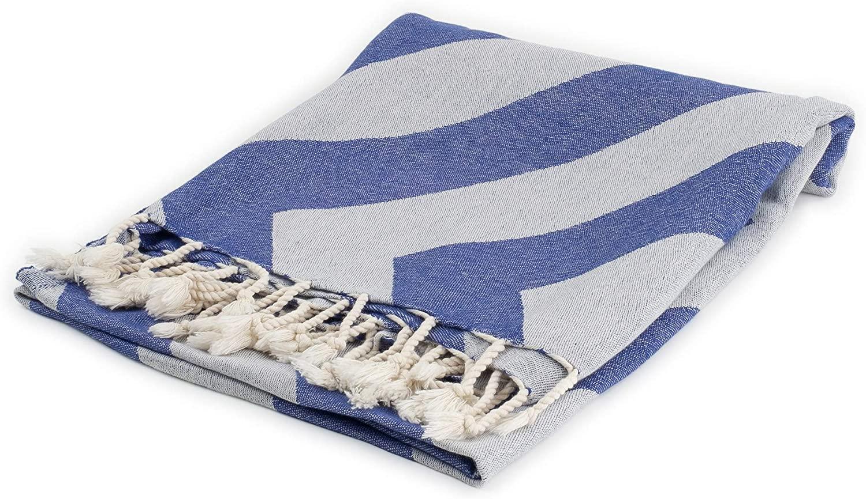 Cozy Zig Zag | 100% Cotton Original Turkish Hand Towel (37