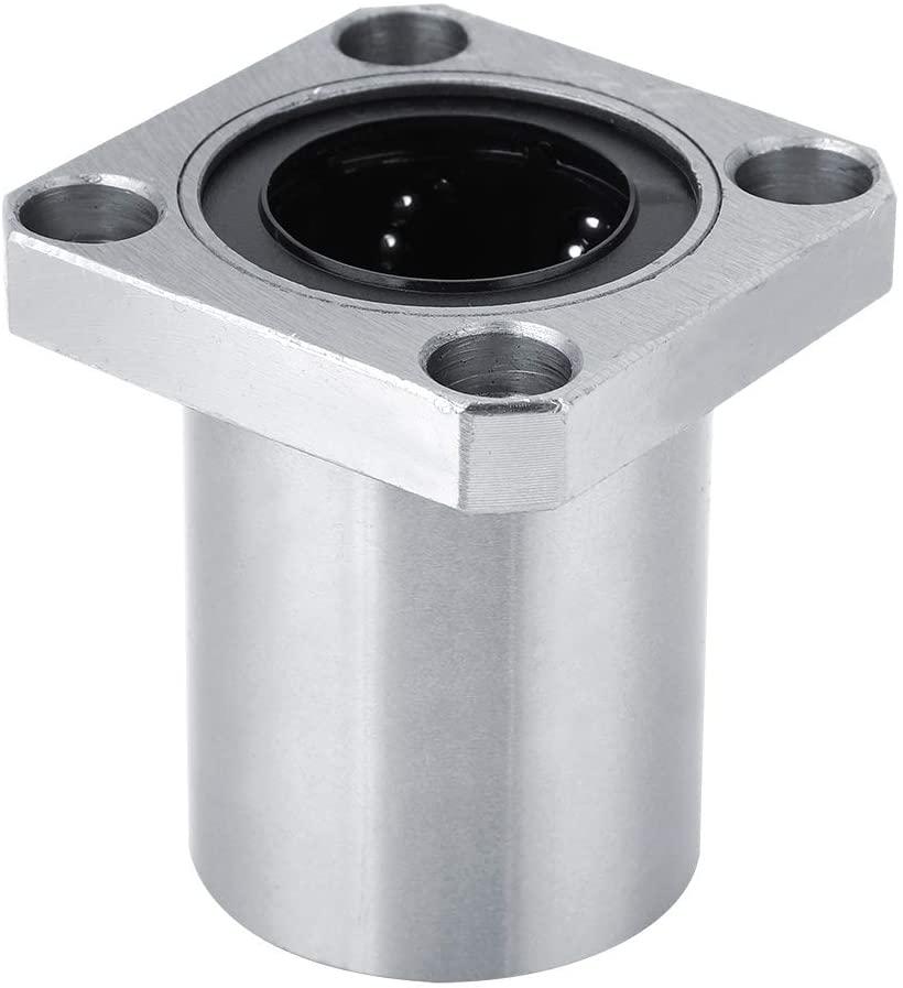 Jadeshay Bearing Linear Motion Ball Bearing Bushing 4-Bolt Square Flange CNC Parts(LMK40UU)