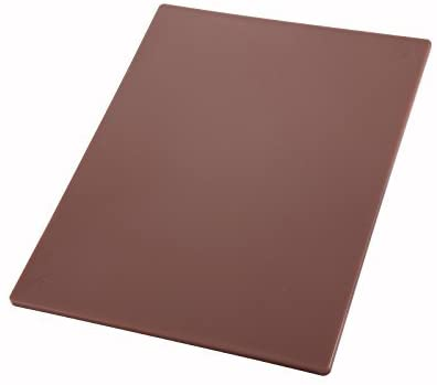 Winco CBBN-1520 Cutting Board, 15-Inch by 20-Inch by 1/2-Inch, Brown by Winco
