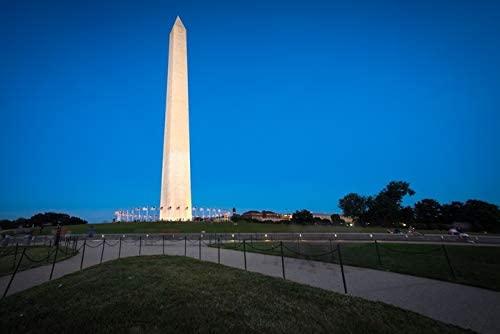 Washington, DC - Washington Monument at Dusk - Photography A-93375 (9x12 Art Print, Wall Decor Travel Poster)