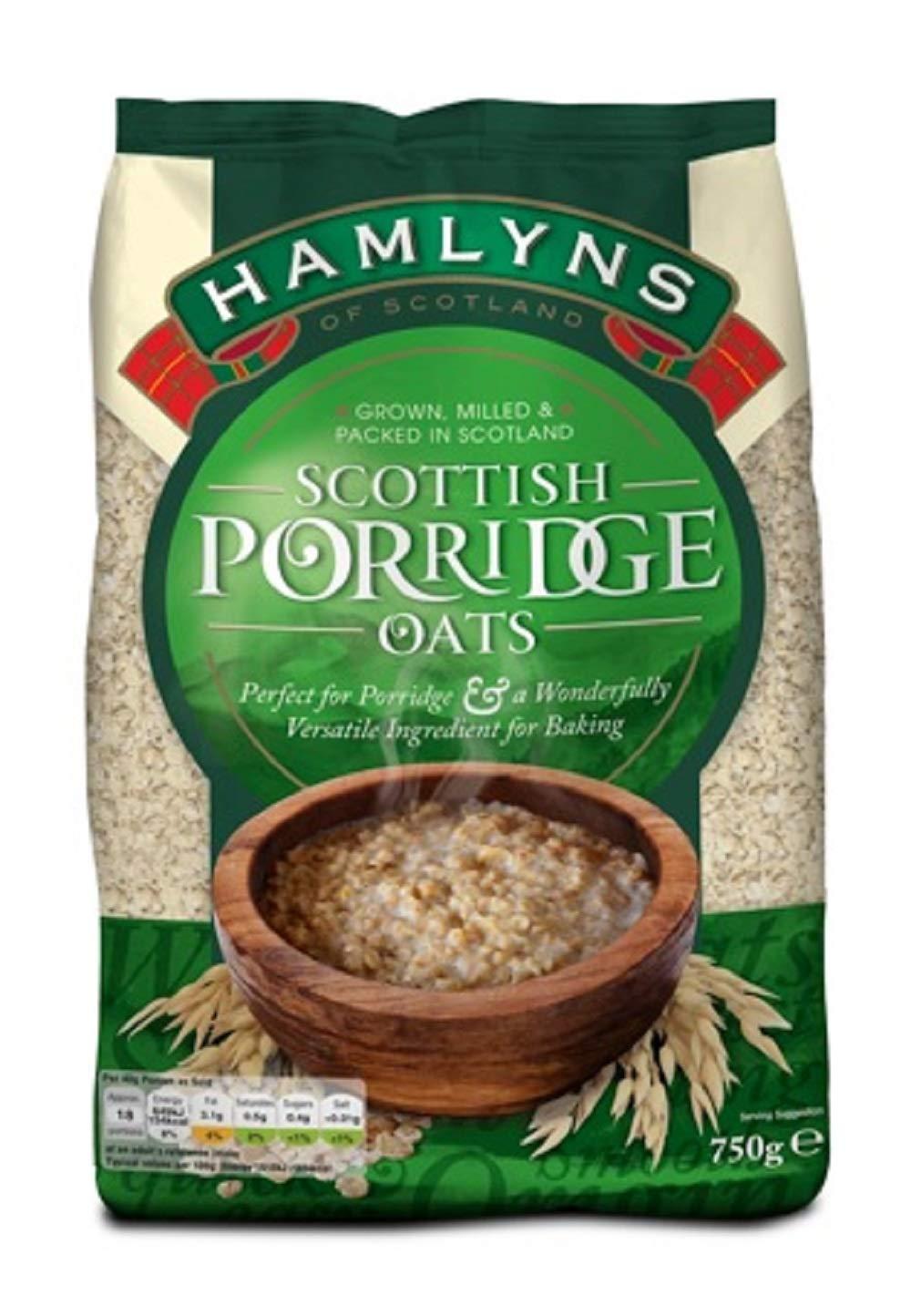 Hamlyn's Scottish Porridge Oats, 26 Ounce (1 Pack)