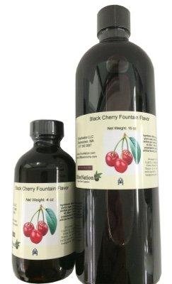 Black Cherry Fountain Flavor 16 oz
