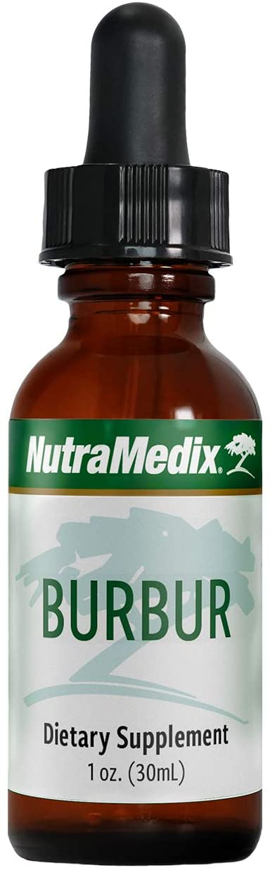 NutraMedix Burbur Detox - May Help Resolve Herx-Like Reactions - Desmodium molliculum Leaf Extract Drops (1oz / 30ml)