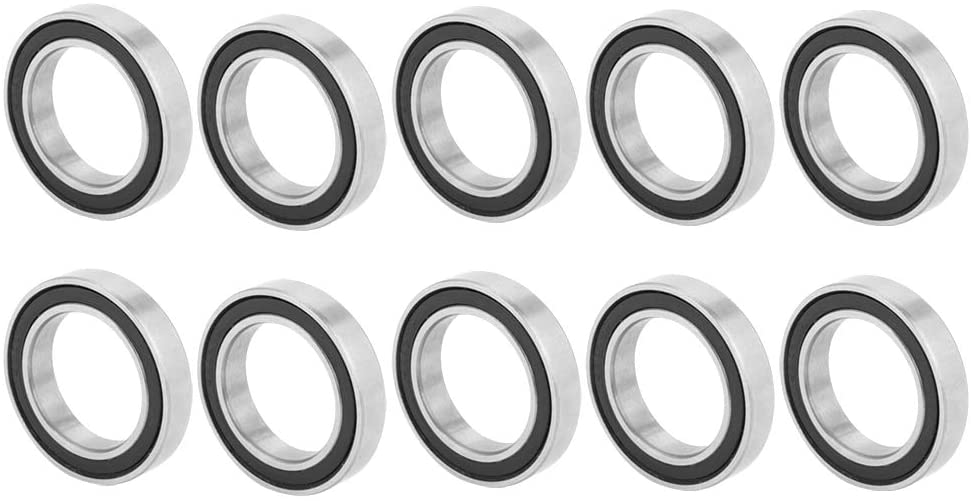 East buy Bearing - 10pcs 6803-2RS Rubber Sealed Deep-Groove Ball Bearings (17mm26mm5mm)