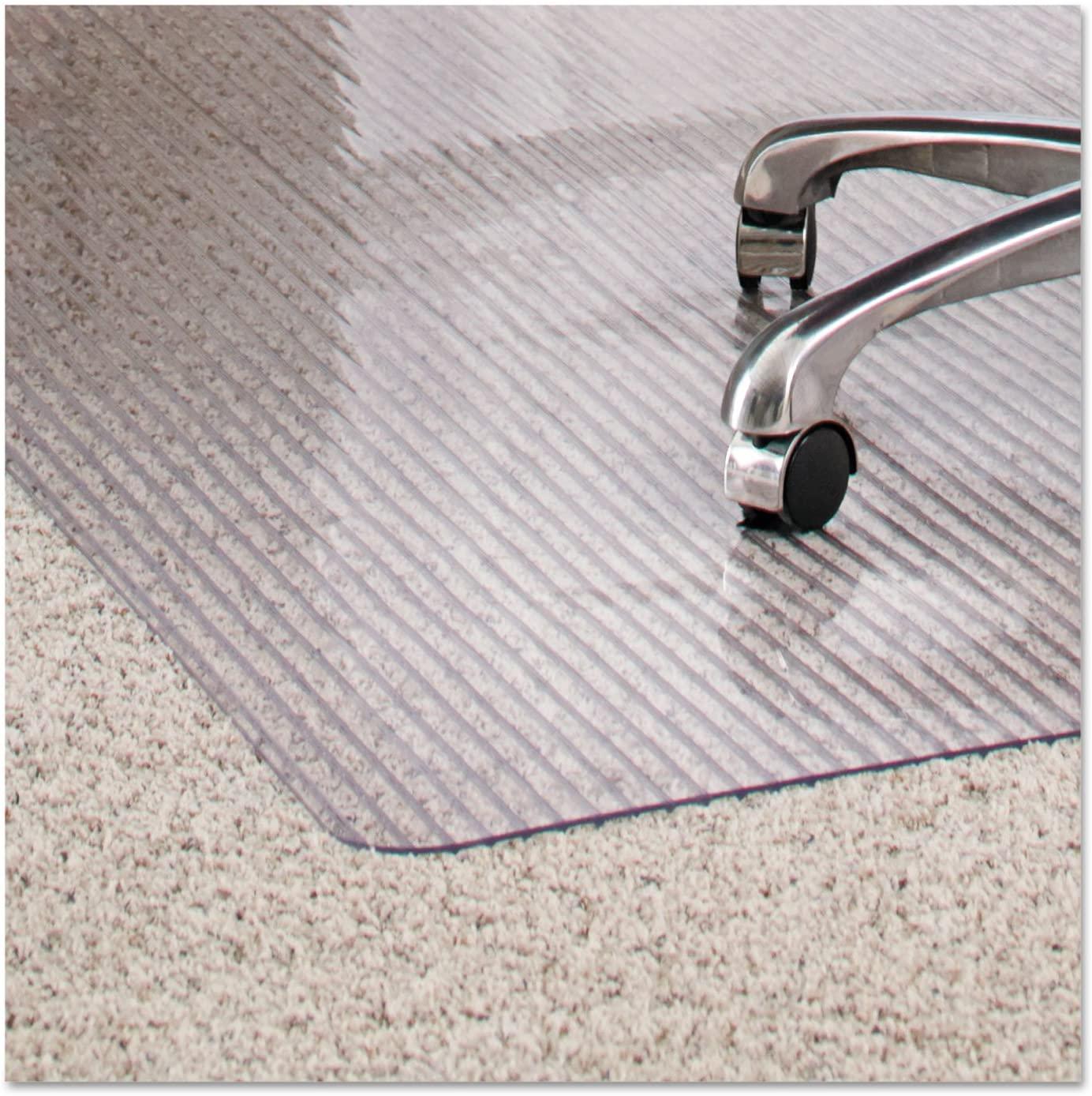 ES Robbins Dimensions Chair Mat for Carpet, 36 x 48, Clear - 162008
