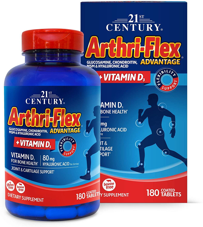 21st Century Arthriflex Advantage Tablets, 180Count