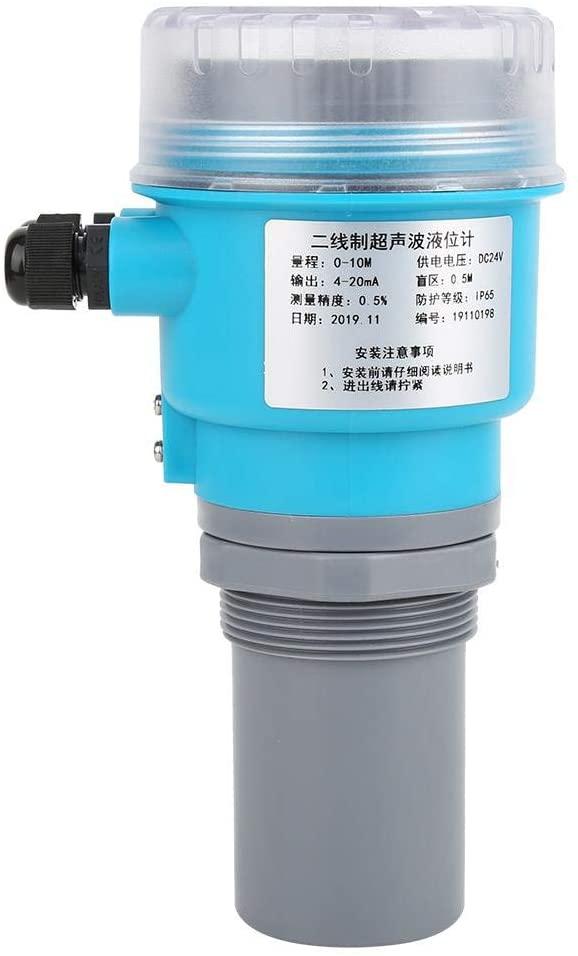 Digital digital level meter, LED level meter, 0-20 m ABS LED display DC24V coal sludge pool mortar pool power for the(0-10 meters)
