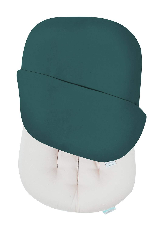 Snuggle Me Organic | Baby Lounger & Infant Floor Seat | Newborn Essentials | Organic Cotton, Fiberfill | Moss