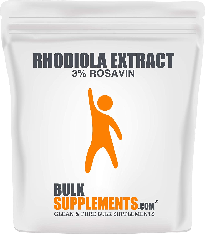 BulkSupplements.com Rhodiola Extract (3% Rosavin) (250 Grams)