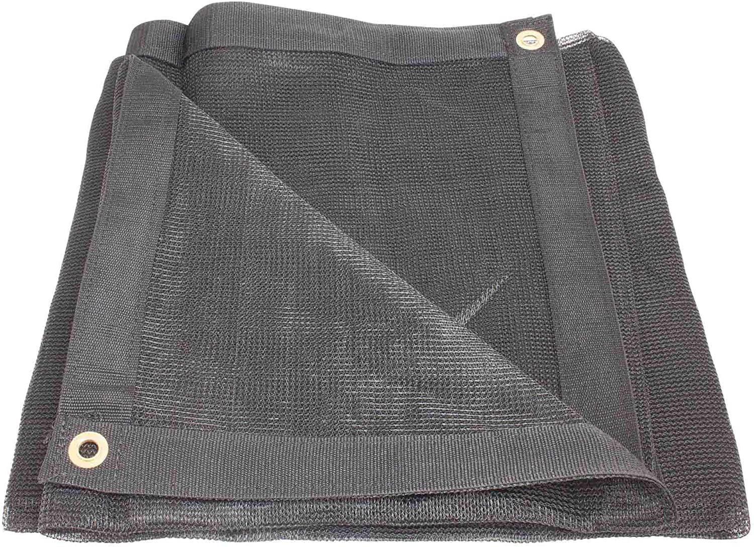 16' x 20' Black 70% Shade Mesh Tarps with Grommets ROLL-Off