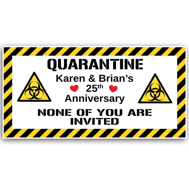 Quarantine Anniversary Banner