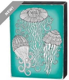 Primitives by Kathy Color Sign - Jellyfish