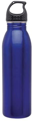 Simply Green Solutions Slim Line Stainless Steel Water Bottle Canteen - 24oz. Capacity
