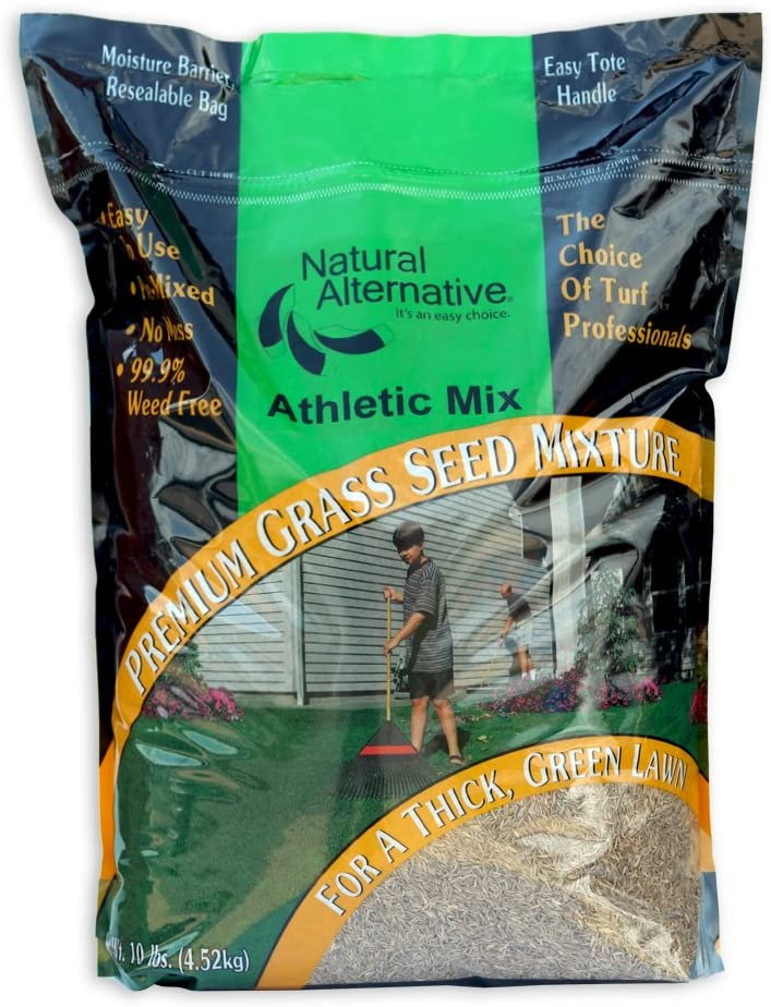 Natural Alternative Grass Seed for High Traffic Areas 3 lb. (12003 - Iron Man)