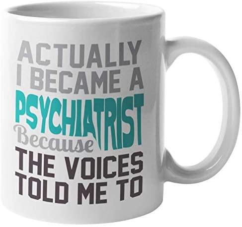 Funny Psychology Pun Psychologist or Psychiatrist Coffee & Tea Mug, 11oz, White