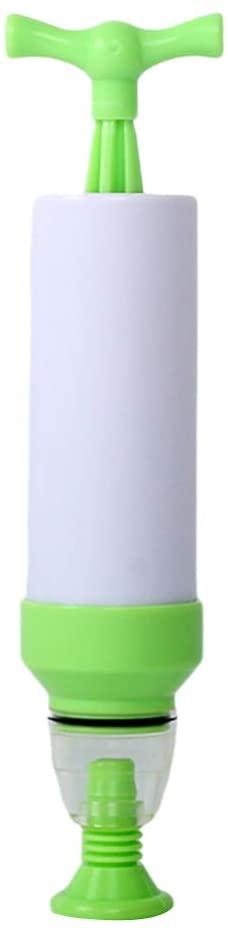 minansosteyManual Vacuum Bag Suction Air Pump Food Seal Storage Pouch Compression Pump Tool