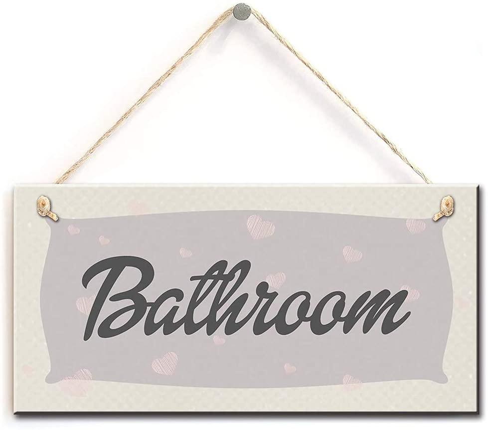 na Stylish Hanging Sign- Bathroom Functional Interior Door Sign 10