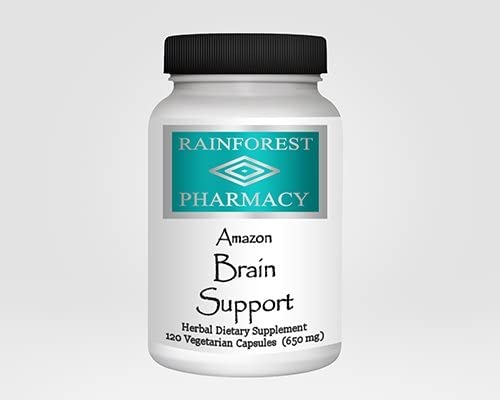 Rainforest Pharmacy DHgate Brain Support 120 Vegetarian Capsules 650 mg
