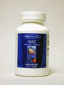 Allergy Research Group NAC - 120 Tablets