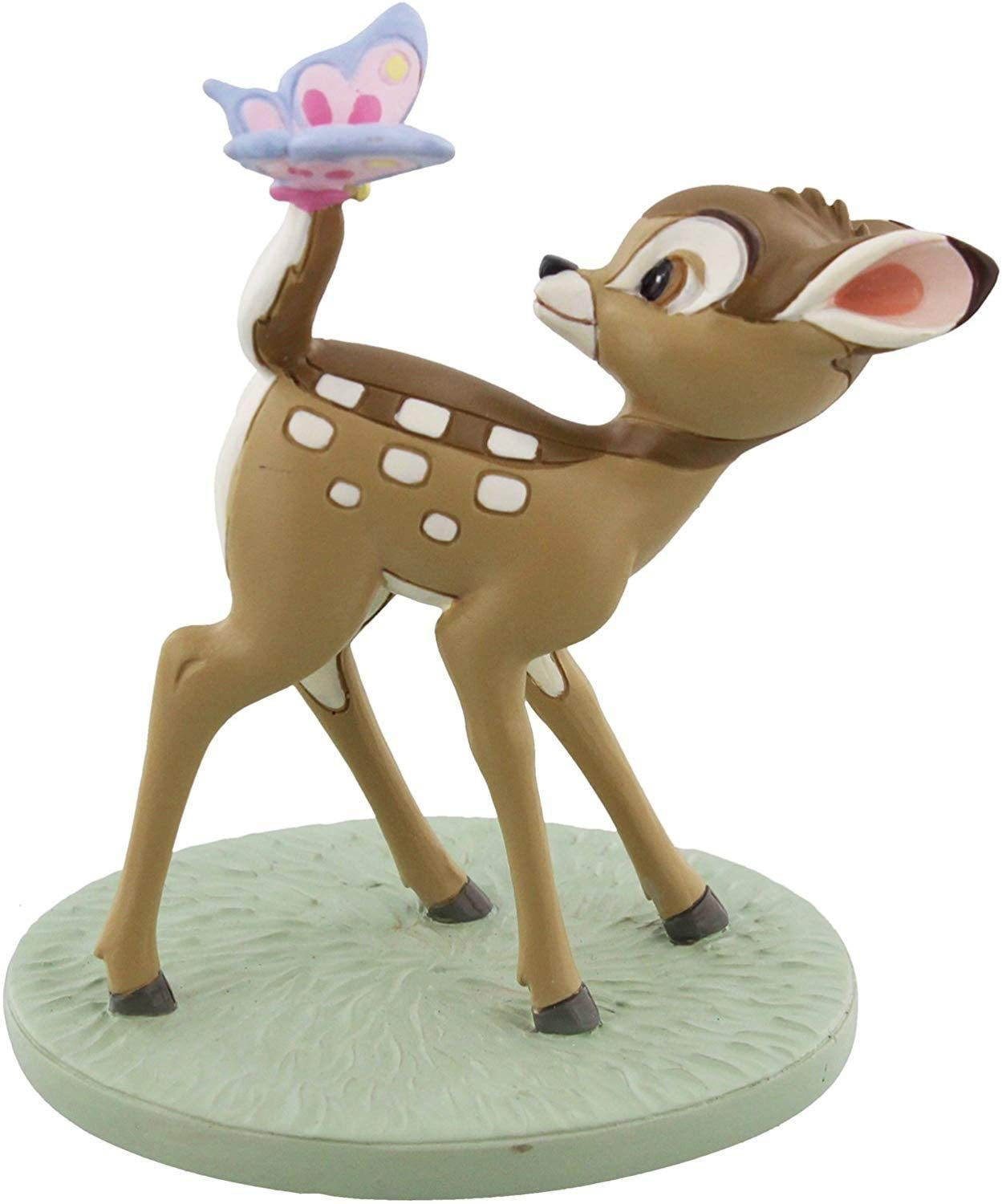Disney Magical Moments Bambi and Butterfly Figurine Ornament Sculpture Dreams and Wishes