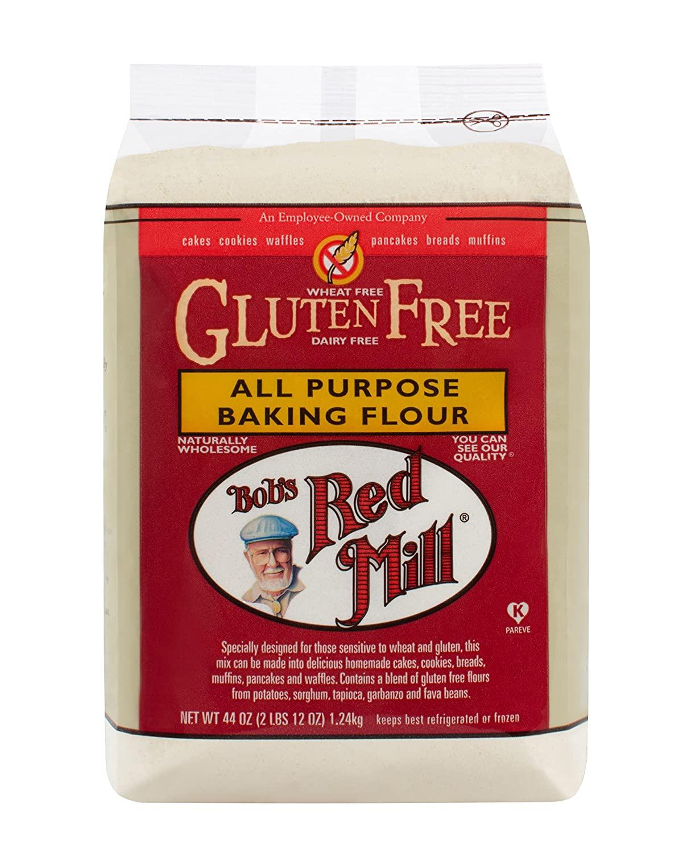 Bob's Red Mill Gluten Free All Purpose Baking Flour, 44-ounce