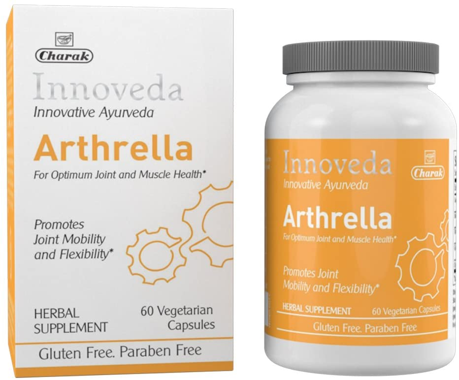 Innoveda Arthrella - Best Joint Support Supplements, Joint Pain, Increase Flexibility and Joint Health, 60 Capsules