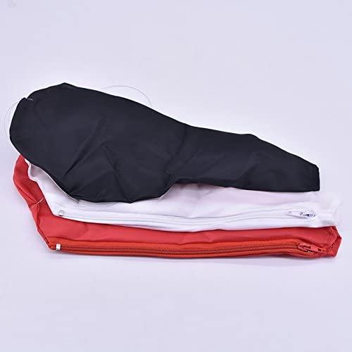 Single Hand Dove Bag (Zipper) Magic Tricks Dove Appear Magic Magic Stage Prop Accessory (Red)