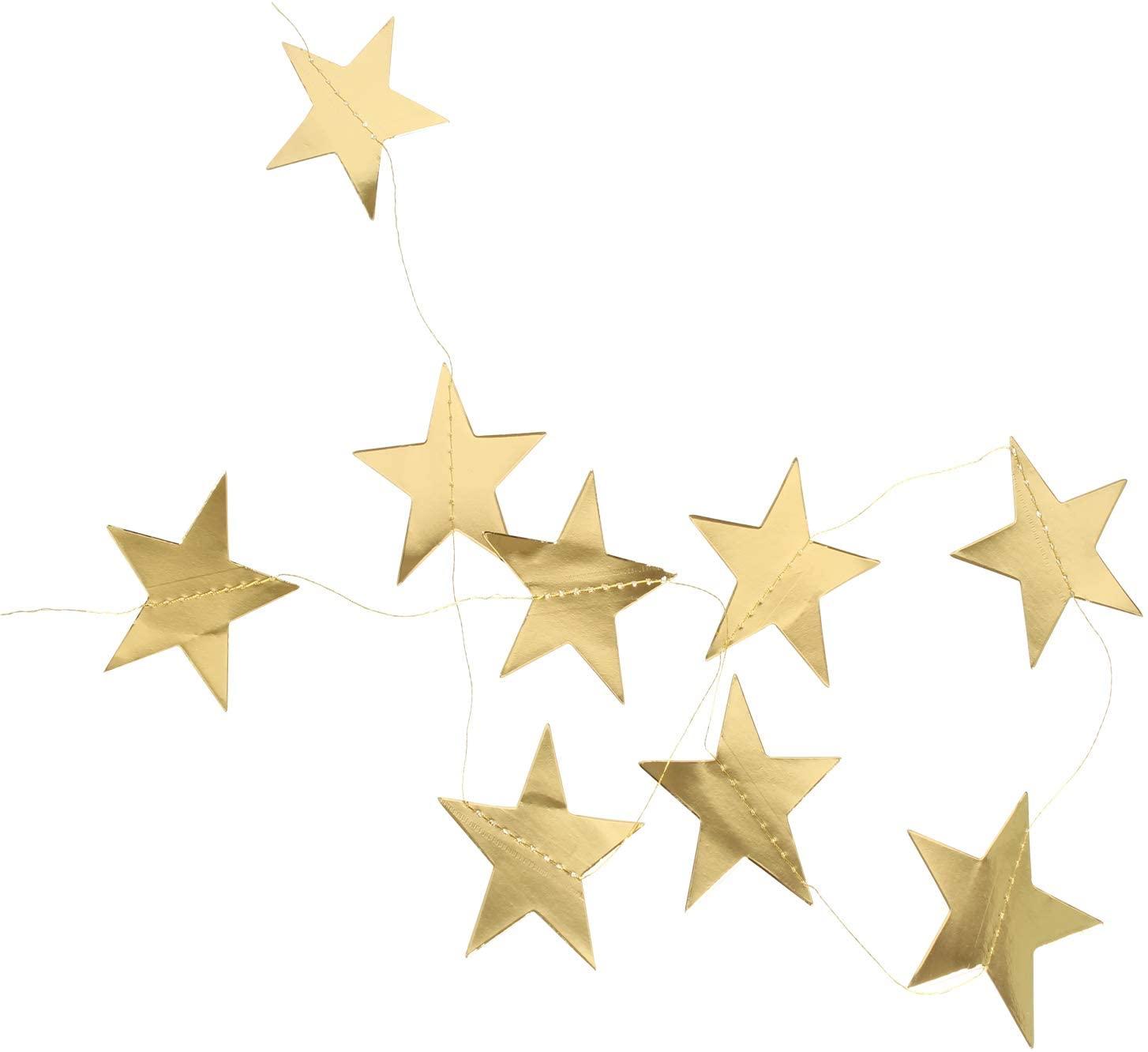 Birthday Wedding Proposal Star Banner Birthday Party Decoration Golden Creative Star Supplies