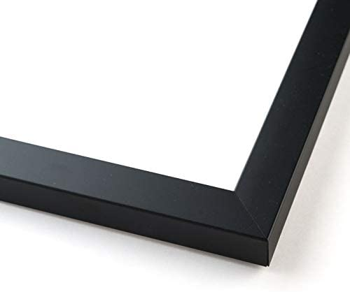 27x30 Black Wood Picture Frame - with Acrylic Front and Foam Board Backing