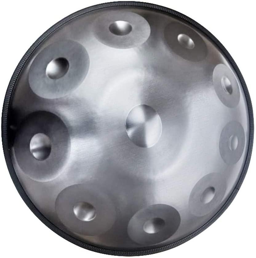 Titanium Alloy Steel Drums New Arrival Hand Drum Handpan Professional Grade Worry-free Air Spirit Drum Instrument Steel Tongue Drum for music lovers (9 sound)