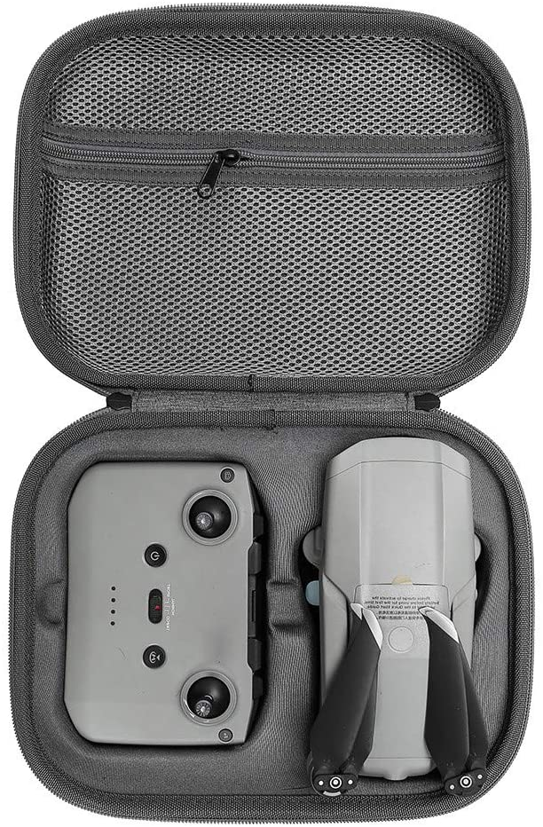 XEDUO Portable Hardshell Waterproof Carrying Case for DJI Mavic Air 2 Drone (Gray)