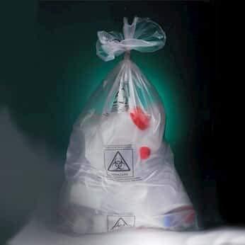 Corning Gosselin Autoclavable Bags, 3L, Polypropylene, with Biohazard Symbol; 500/cs