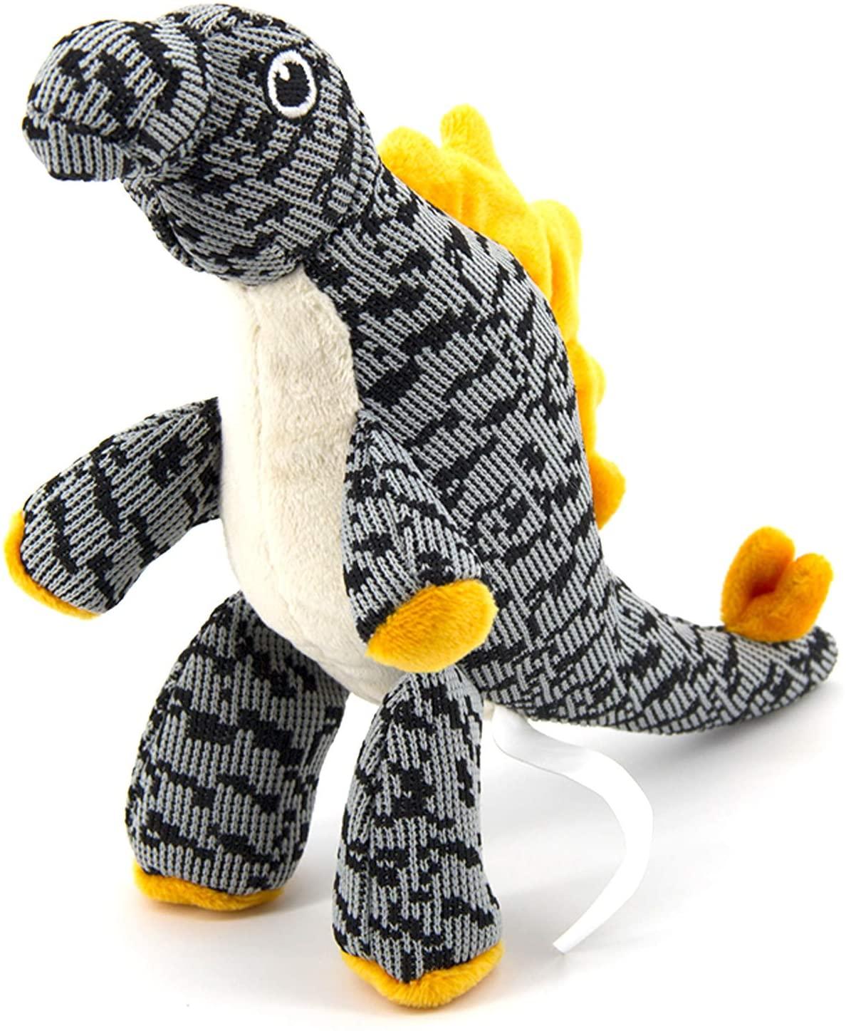 AXEN Dog Toy, Durable Squeaker, Dinos, Aliens, Pillar, Long Neck