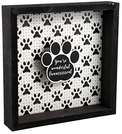 Greenbrier International Dog Lovers Pet Quote Funning Home Decor Sayings You're Wonderful Wall Hangings Dog Lovers Decor Plaque