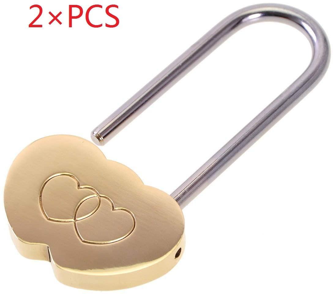 2 Pcs Love Lock, 3.5