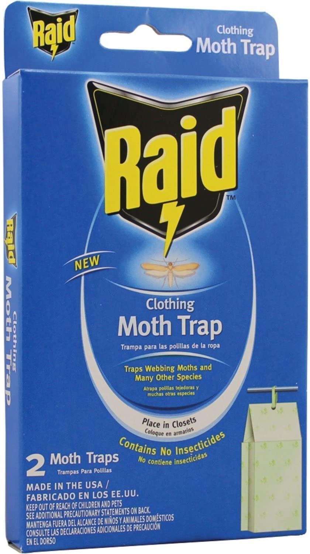 PIC CMOTHRAID Raid Clothing Moth Trap(2Pack)